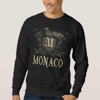 Huis MONACO. Het Overhemd van de gift voor Trui