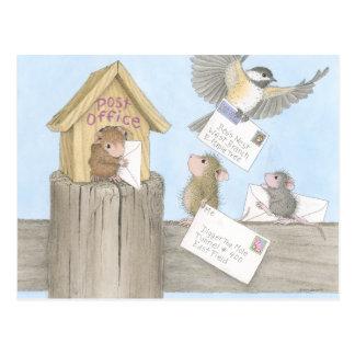 Huis-muis Designs® - Briefkaarten Briefkaart