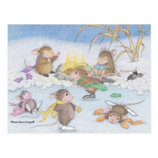 Huis-muis Designs® - de Briefkaarten van Kerstmis