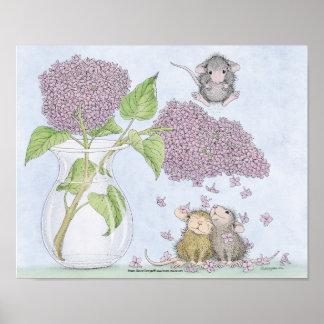 Huis-muis Designs® - het Art. van de Muur Poster