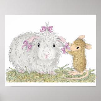 Huis-muis Designs® - Schitterend Guinea Poster