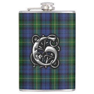 Huis van Fles van Schotland van het Geruite Heupfles