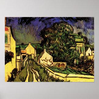 Huis van Pere Pilon, Van Gogh Fine Art. Poster
