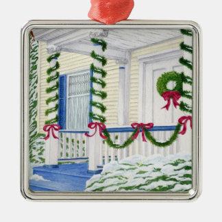 Huis voor Kerstmis - het Klantgerichte Ornament