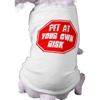 Huisdier op Uw Eigen Risico T-shirt