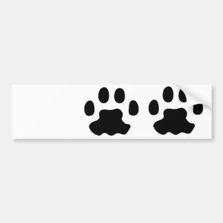 huisdieren poten bumpersticker