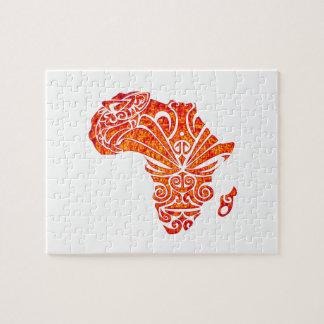 HULDE AAN AFRIKA PUZZEL