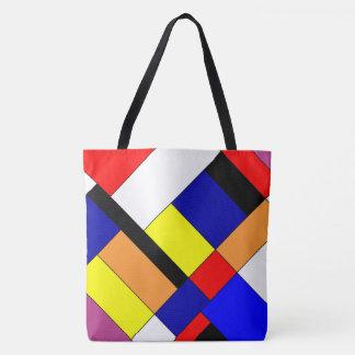 Hulde aan Mondrian Draagtas