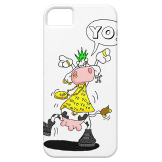 hull Kazemat punker cow Barely There iPhone 5 Hoesje