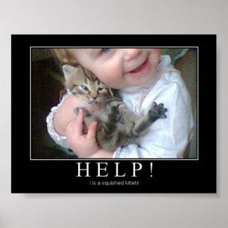 Hulp! Poster