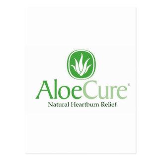 Hulp van het Zuur van AloeCure® de Natuurlijke Briefkaart