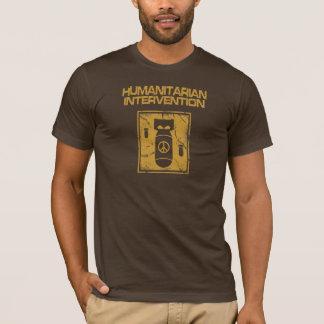 Humanitaire Anti-War Interventie - T Shirt