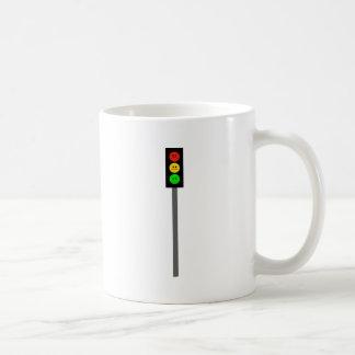 Humeurig Rood licht op Pool Koffiemok