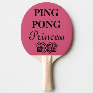 Humor van de Tekst van de Prinses van de pingpong Tafeltennis Bat