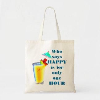 Humor van het Uur van de Drank van de paraplu de Draagtas