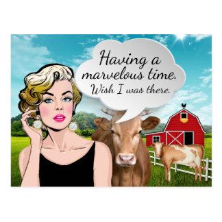 Humoristisch Briefkaart