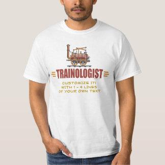 Humoristische Spoorweg T Shirt