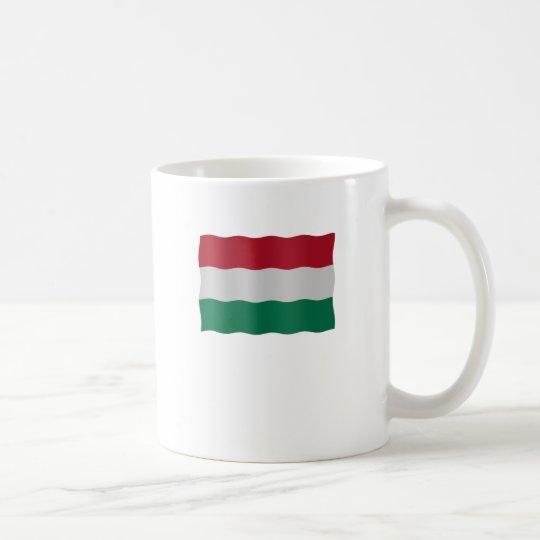 Hungarian flag koffiemok