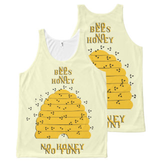 Hunny All-Over-Print Tank Top