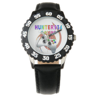 HUNTER934 - het Collectie van Driehoeken - Kinder Horloge