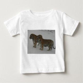 Huren Twee Siberische Tijgers Baby T Shirts
