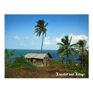 Hut op de Kust van het Noorden van Trinidad Briefkaart