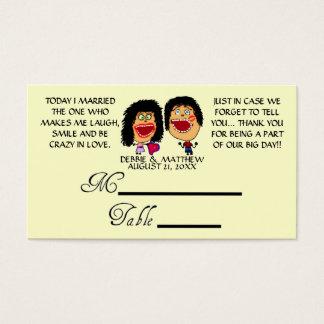 Huwde Mijn Beste Huwelijk Placecards van de Vriend Visitekaartjes