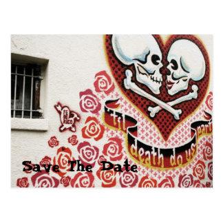 Huwelijk Graffiti Briefkaart