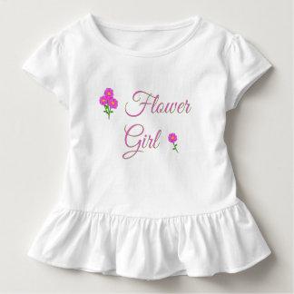 Huwelijk - het Meisje van de Bloem - het Leuke Kinder Shirts