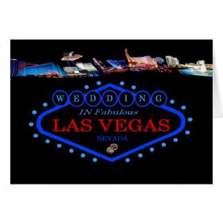 HUWELIJK in de Kaart van Las Vegas