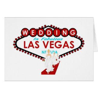 Huwelijk in Las Vegas met de Kaart van
