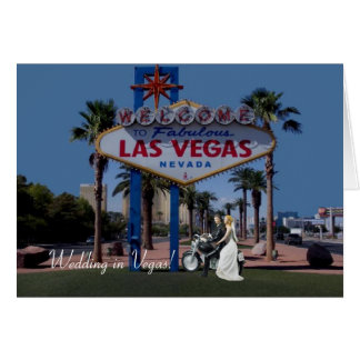 Huwelijk in Vegas! Bruid & Bruidegom op de Kaart