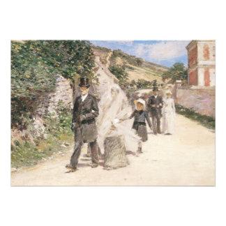 Huwelijk Maart door Robinson Impressionism Weddin