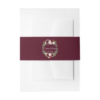 Huwelijk RSVP van Bourgondië van de Kroon van de Uitnodigingen Wikkel