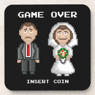 Huwelijk - Spel over Onderzetter