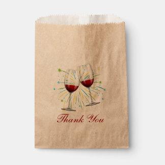 Huwelijk van Bourgondië van de Glazen van de wijn Zakje 0