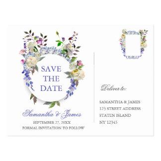 Huwelijk van de Pioen van het land bewaart het Briefkaart