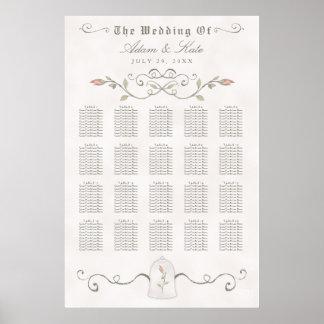 Huwelijk van de Schoonheid van GRAFIEK 151- 200% Poster