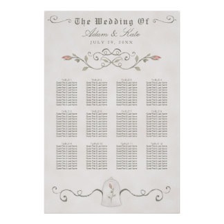 Huwelijk van de Schoonheid van GRAFIEK 81- 120% Poster