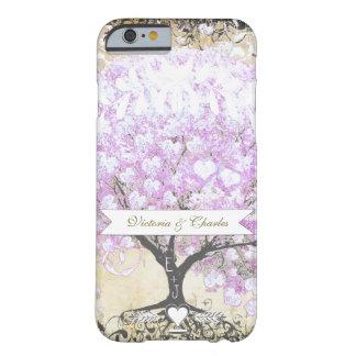 Huwelijk van de Vogel van de Boom van de Lavendel Barely There iPhone 6 Hoesje
