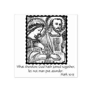 Huwelijk/Verloving/Huwelijk van Mary & Joseph Rubberstempel