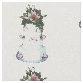 huwelijks cake stof