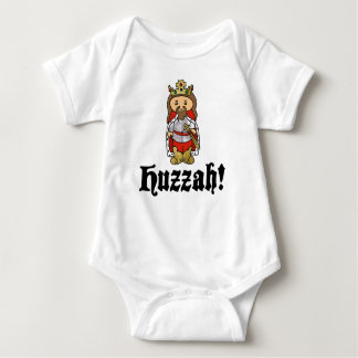 HUZZAH! Het babybodysuit van Arthur van de koning Romper
