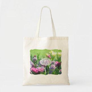 Hyacint van de Tulpen van de Tuin van de Lente van Draagtas