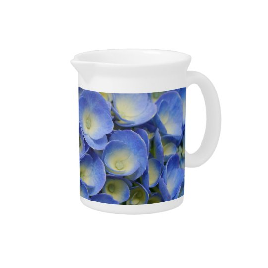 Hydrangea hortensia drink pitchers