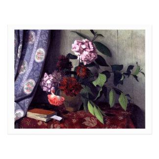 Hydrangea hortensia en Papavers door Felix Briefkaart