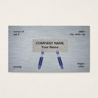 hydraulisch cilinderconcept visitekaartjes