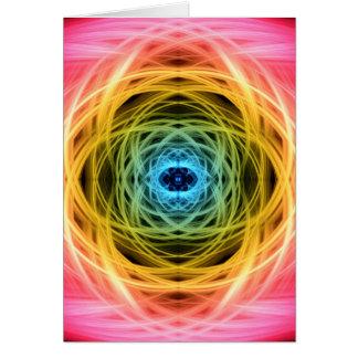 Hyper Aandrijving Mandala Wenskaart