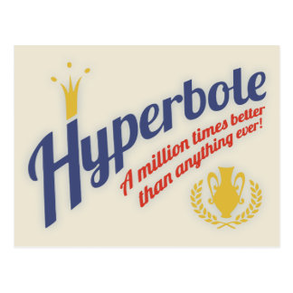 Hyperbool Briefkaart