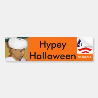 Hypey Halloween Bumpersticker